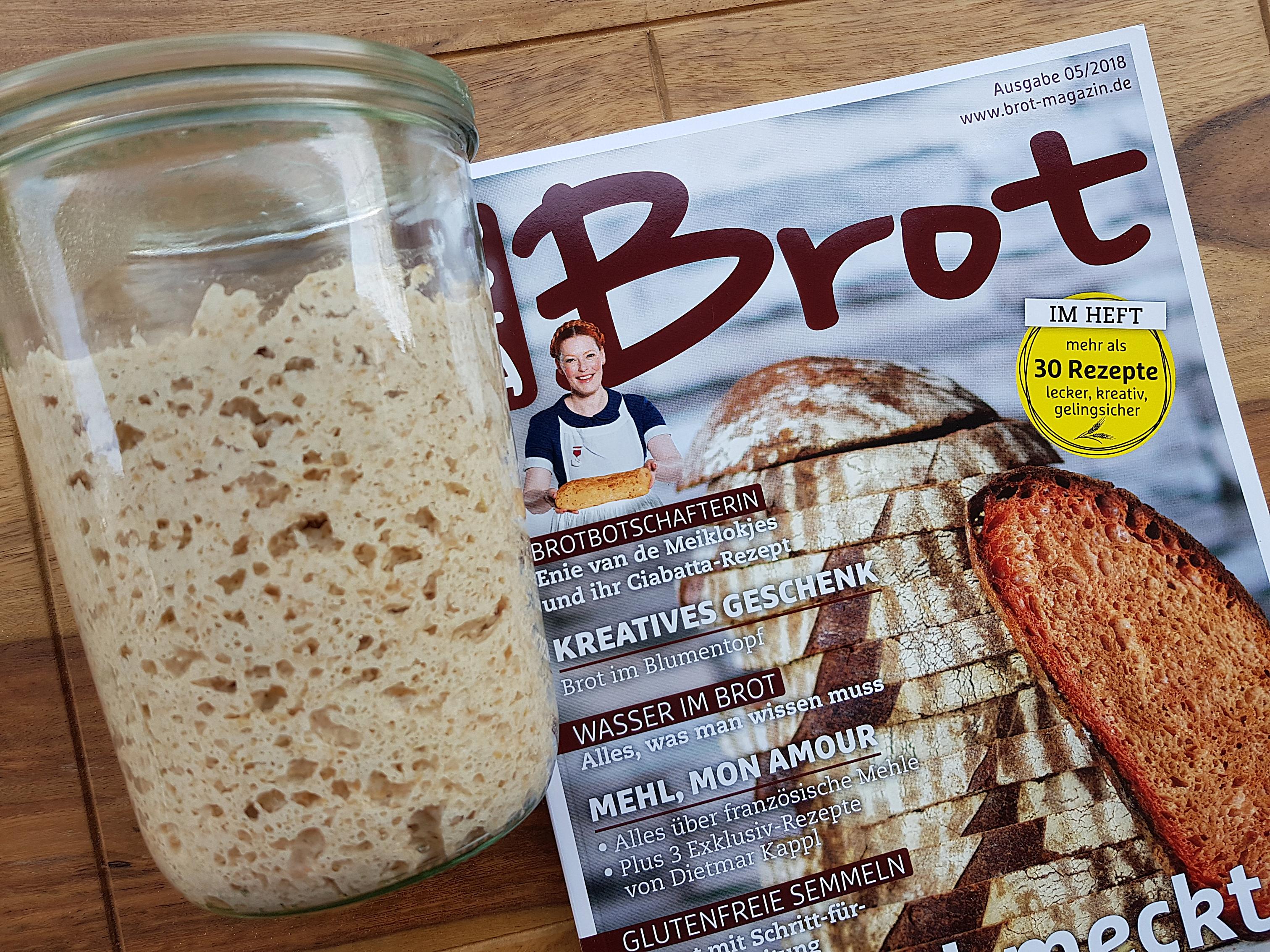 Sauerteig Marvin im Brot Magazin